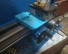 Mini lathe chip tray 3D printable model