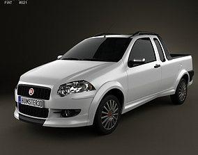 Fiat Strada Crew Cab Sporting 2012 3D
