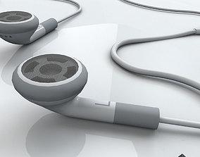Earphones 3D model