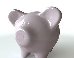 coins 3D Piggy Bank