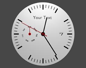 Watch dial 3D model
