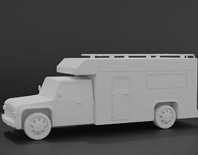 3D RV Motorhome Camper