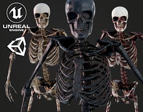 Skeleton Humanoid - Game Ready 3D asset