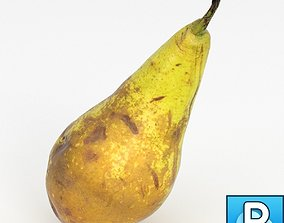 Photorealistic pear 3D