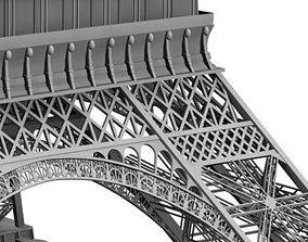 3D Eiffel Tower Paris