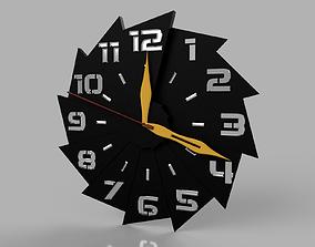 3D print model modern wall clock