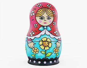 3D asset Russian Doll