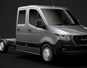 RAM Sprinter Chassis Crew Cab L2 RWD 2020 3D