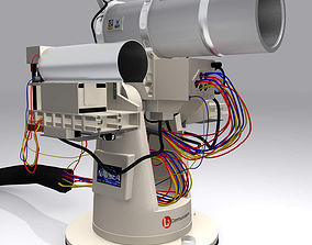 Laser Weapon System Us Navy 3D