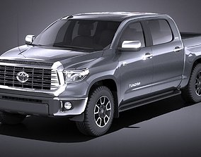 Toyota Tundra Limited 2016 VRAY 3D model