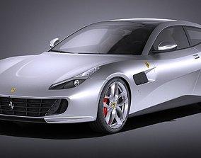 3D Ferrari GTC4 Lusso T 2017