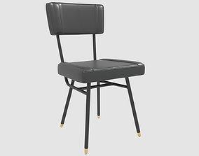3D model woven UNAM armchair by gervasoni
