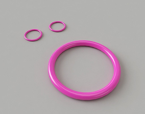 Bangle-Earrings wristband 3D printable model