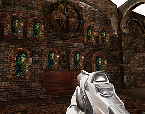 Lost Temple Model for FPS Game