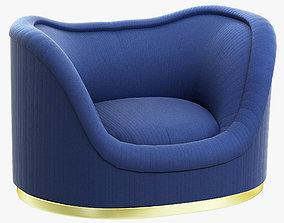 Brabbu Dakota Single Sofa 3D model