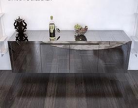 Paul Evans Cityscape Cabinet 3D