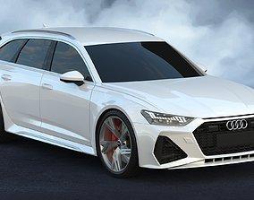 2020 Audi RS6 Avant 3D model