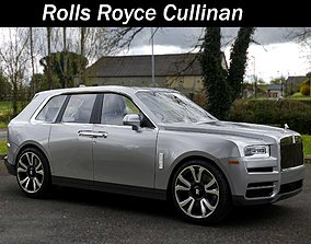 Rolls Royce Cullinan 3D model