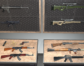 3D model CSGO Weapons Collection