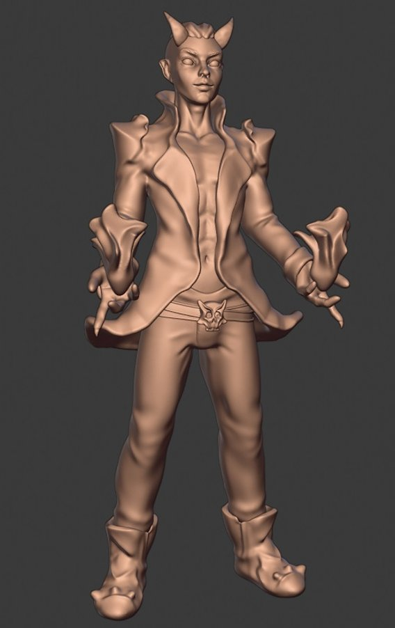 DEvil King pyro magic
