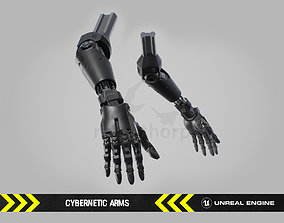 Cybernetic Arms - FPS Character for Unreal 3D asset
