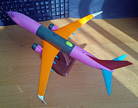 3D printable model 121114 Boeing 737-800 Split Scimitar Up