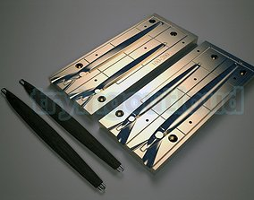 3D model 100-200 gr Belt Fish Slim Metal Jig Mold