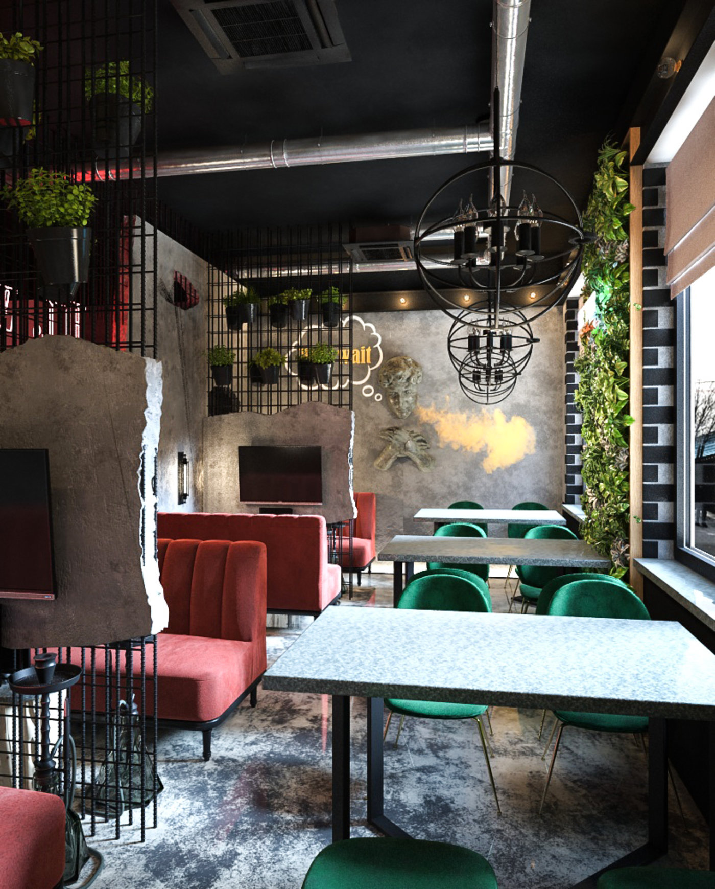 Lounge zone render