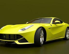 3D Ferrari F12 Berlinetta