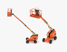JLG 400S Telescopic Boom Lift 3D