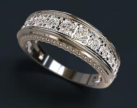 male 3D print model Ring