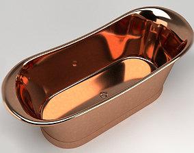 Bathtube 03 3D model interior