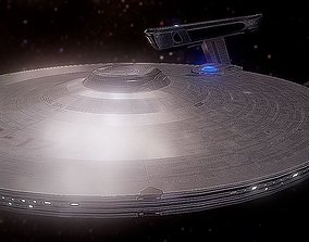 3D asset USS Enterprise