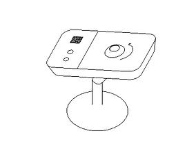 CAMARA DE SEGURIDAD 3D model