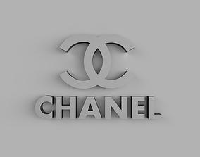 Chanel logo 3D print model