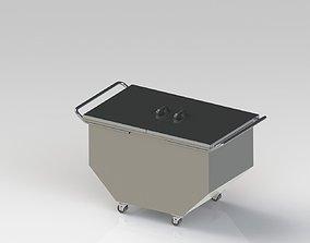 3D model Laundry trolley