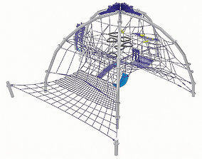 3D asset Playground Equipment 005