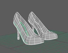 3D model Basic High Heels