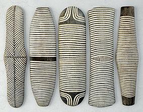 Zulu Elongated Shields 3 3D