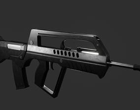 Famas Redesign 3D model