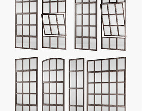3D asset Loft windows