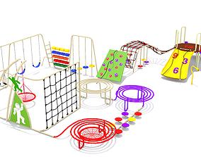 Wave Playground 3D asset