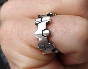 HEX Ring 3D print model