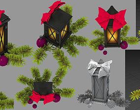 3D christmas decor flashlight
