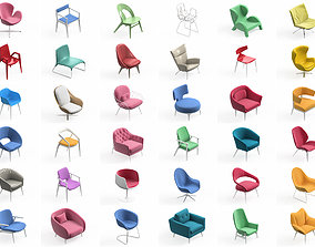 3D model Armchair Modern Collection 36x