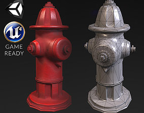 Hydrant - PBR Textures 3D model