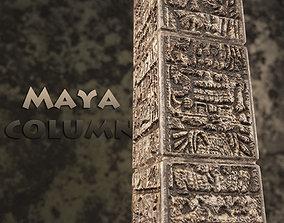 3D model Column of the Maya