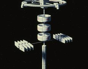3D model Medical Space Station