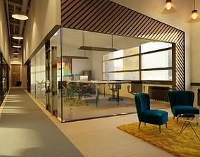 3D Open space office