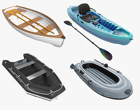 3D Inflatable Boat Kayak Rowing